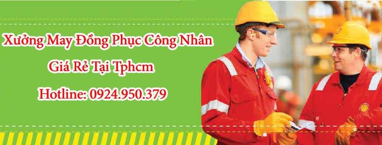 may đồng phục công nhân giá rẻ tại tphcm