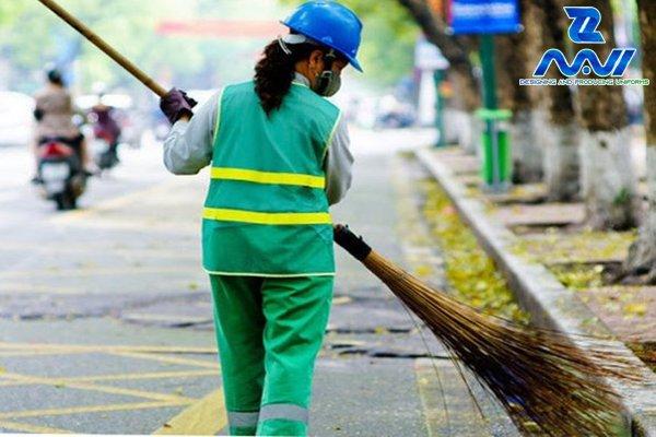 Đồng phục ngành vệ sinh môi trường