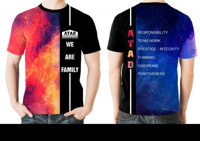 áo lớp galaxy