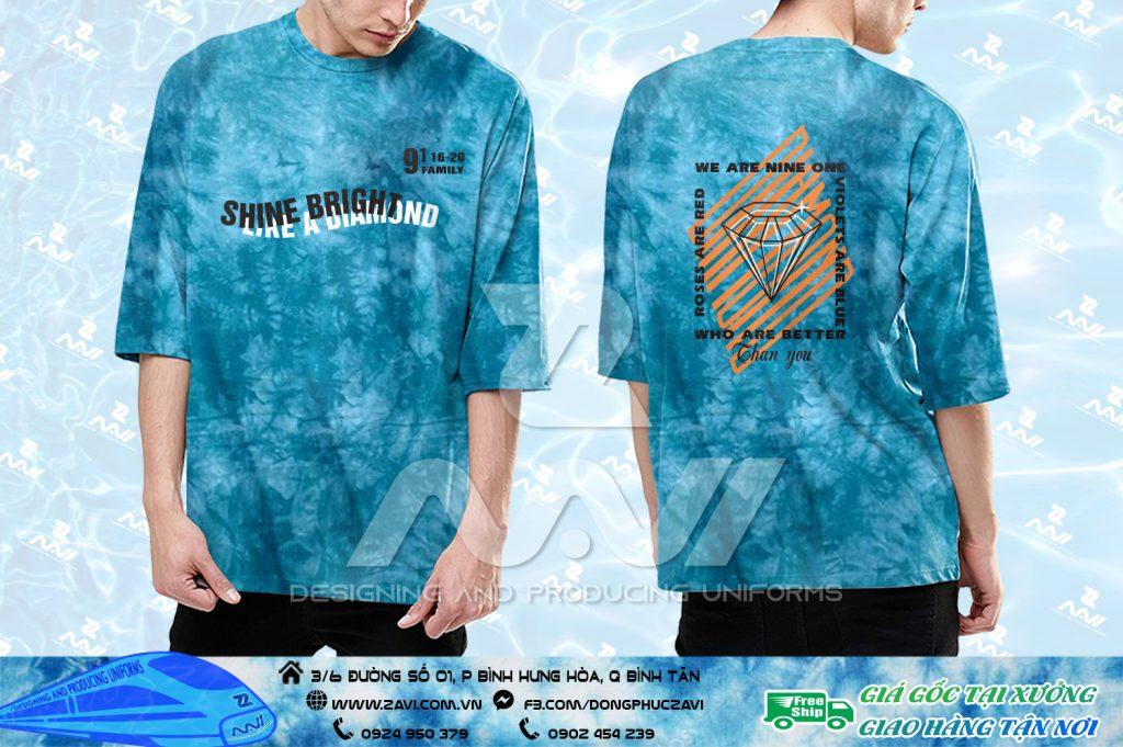 áo lớp Tye Die